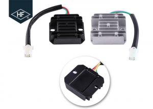 China Motorcycle Electric Parts Scooter Accessories 4 Wires 4 Pins 12 Voltage Regulator Rectifier For 150 - 250CC Motorcycle on sale