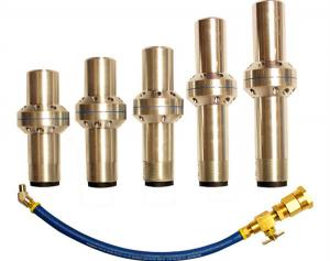 China Wet spray nozzle are widely used in steel structure, concrete, marble, granite and ceramic spraying process on sale