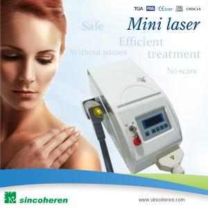 China Portable Q-Switched Nd:Yag Laser for Tattoo Removal, Distributor Wanted. on sale