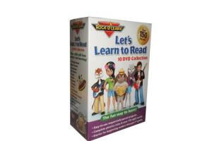 China Let's Learn to Read 10DVD Collection By Rock'N Learn Baby Early Educational Learning Language DVD on sale