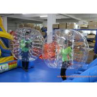 Clear Inflatable Bubble Ball Red Straps Adults Inflatable Belly Ball Bump Bubbles with CE