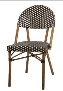 China LJC075 2015 Newest outdoor Bamboo look rattan starbucks furniture on sale