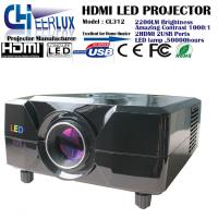 cheap hd 1080p led projector with high lumens & multimedia interface & dvd player built in