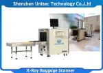 Middle Size Dual Energy X Ray Baggage Scanner With High Solution Scanning Display