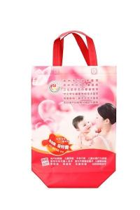 China eco custom promotion laminated Low Price reusable non woven tote shopping bag on sale