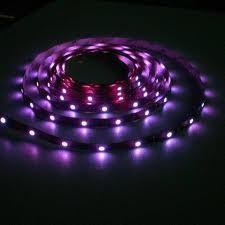 China 10m 120 degree 12V or 24V 5050 RGB Flexible Led Strip Lights (14.4W, 60 / m) on sale