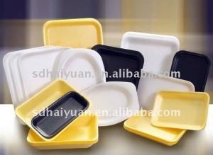China disposable plastic food box making machine on sale