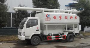 China forland mini bulk feed pellet tank truck for sale, best price forland LHD farm-oriented animal feed delivery truck on sale