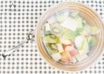 Oil / Leak Resistant Salad Paper Bowl PET Lids Sustainable Packaging