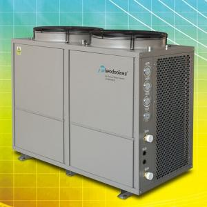 China High Efficiency Commercial Heat Pump T5 , High COP Air Source Water Heater on sale