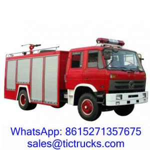 China 6000L 190HP Foam Water Firefighting Truck 4 x2 DongFeng for sale on sale