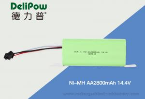 China High Capacity Nimh Aa Batteries , Rechargeable Aa Battery Pack 2800mAh 14.4V on sale