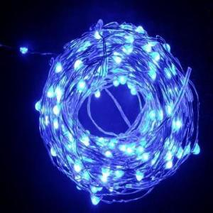 China 10m/100leds battery operated rope lights outdoor use on sale