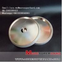6 inch Quality Electroplated Diamond coated Flat Lap Disk wheel lucy.wu@moresuperhard.com