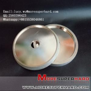 China 6 inch Quality Electroplated Diamond coated Flat Lap Disk wheel? lucy.wu@moresuperhard.com on sale