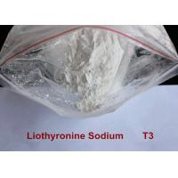 Pharmaceutical Raw Materials Hot Weight Loss Drug 99.9% Liothyronine Sodium / T3 Steroid Powder