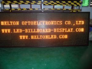 China Waterproof Single Color Large Modular Scrolling LED Outdoor Signs P12 / 16 on sale