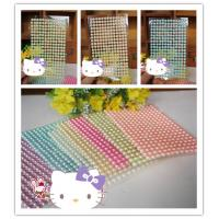 China Hot sale self Adhesive rhinestone Stickers pearl gem Stickers on sale