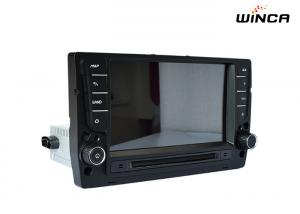 China 16 GB NAND Flash Volkswagen GPS Navigation High Definition Full Touch Screen on sale