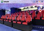 Deft Novel Motion 5D Theater Equipment With 12 Special Effects CE ISO9001