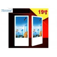 Slim 19 Inch Wall Mount LCD Digital Advertisng Player for Retail Store Mall Building