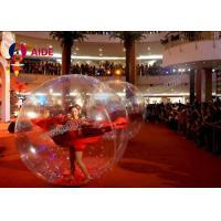 Customized Human Sized Hamster Ball , Inflatable Human Hamster Ball
