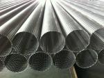 El grado 409 perforó el tubo de la malla metálica/el tubo perforado del acero inoxidable