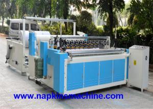 China Máquina de corte de papel perfurada do rolo enorme do corte, máquina do rebobinamento do papel higiénico on sale