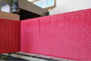 China Horizontal Sponge Continuous Foaming Producing Line / Flexible Foam Making Machine on sale