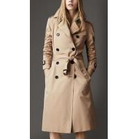 China Long Waterproof Cotton Trench Lady Winter Fashion Coats Customized on sale