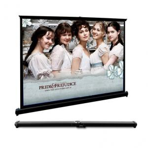 China Fast Fold Mini Table Screen Projection Screen For Desktop Presentation Movies Cinema on sale