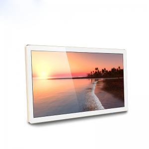 China Large Size Wall Mount Touch Screen Monitor Flat Panel With Window / Android System on sale