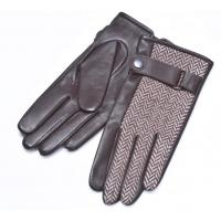 Man  dress gloves, combined gloves, fashion style