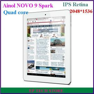 China Aniol NOVO 9 Spark tablet pc Quad core Retina ISP screen 2048*1536 2GB 16GB android 4.1 on sale