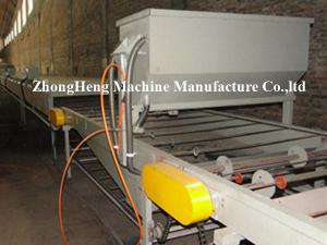 China Sand Blasting Stone Coated Metal Roofing Roll Forming Machine 113kw 15T on sale