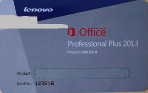 China Microsoft Office 2013 Product Key For Microsoft Office 2013 Professional Plus on sale