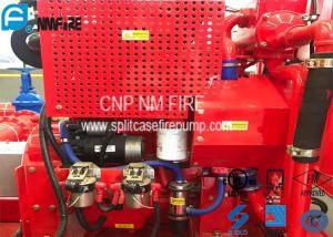 China Red Fire Pump Diesel Engine 86KW Water Cold Cooling For Firefighting on sale