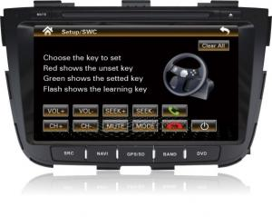 China 8inch Kia DVD Gps Dvd Players Ipod / Rds , Kia Sorento 2013 - 2014 on sale