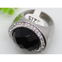 Semi Precious Stone Stainless Steel Ring for Gift 1140470