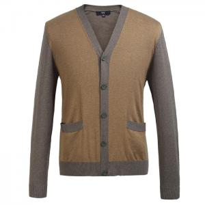 China Eco Friendly Fashion mens wool cardigan sweaters for Spring , Autumn supplier