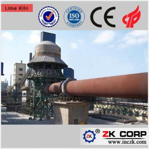 China Lime Calcination Plant Rotary Kiln / Rotary Kiln Calciner of Coke on sale
