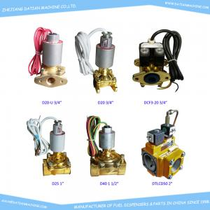 China ATEx explosion proof solenoid valves for fuel dispensers, Ex solenoid valve of fuel pumps on sale