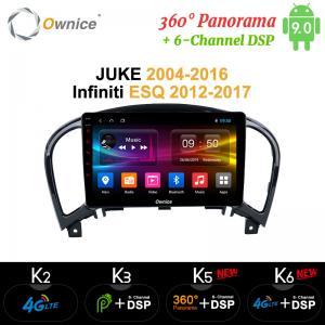 China Ownice Android 9.0 360 Panorama Car DVD Player GPS k3 k5 k6 For NISSAN JUKE 2004 - 2016 Car GPS Navigation on sale