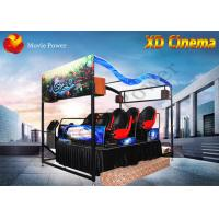 Air Injection / Blow Water XD Simulator 9D Virtual Reality Cinema With 2 - 12 Seat