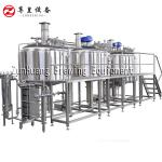 1000L - 2000L Commercial Beer Brewing Equipment For Micro Brewery Beer Factory