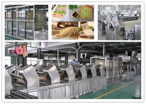 China Multifunction Fresh Noodle Making Machine Production Line High Speed Processing on sale