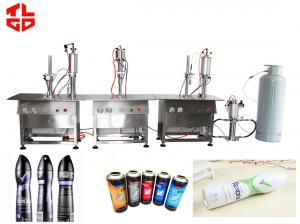 China Deodorant / Air Freshener Filling Machine And Capping Machines Semi Automatic on sale