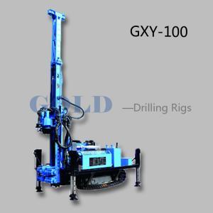 China Diesel drilling rig GXY-100 hydraulic drilling rig, diesel drilling machine on sale