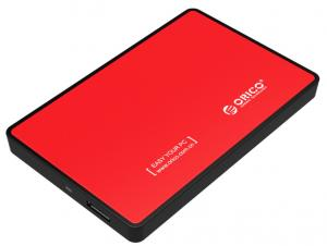 China ORICO 2.5 SATAIII to USB 3.0/ SATA HDD Disk Enclosure Case For Laptop, Desktop Computer Red on sale