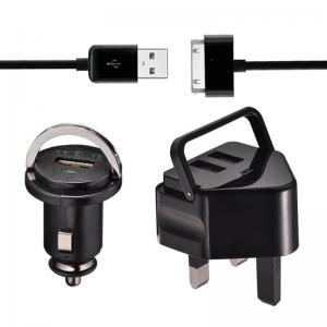 China 5V Universal Usb Charger Kit with Double USB For Samsung / blackberry on sale